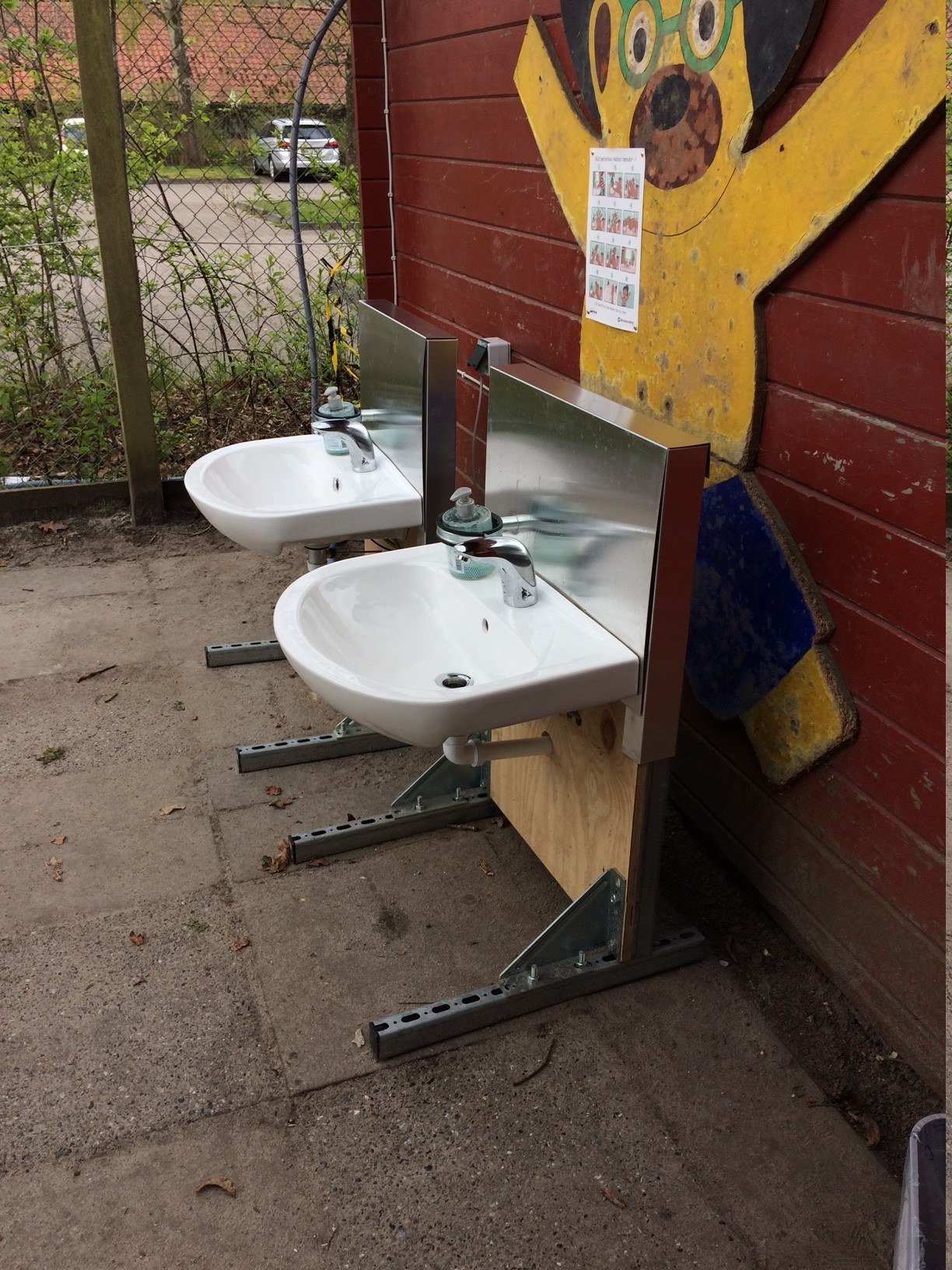 covid-19 håndvask børnehave