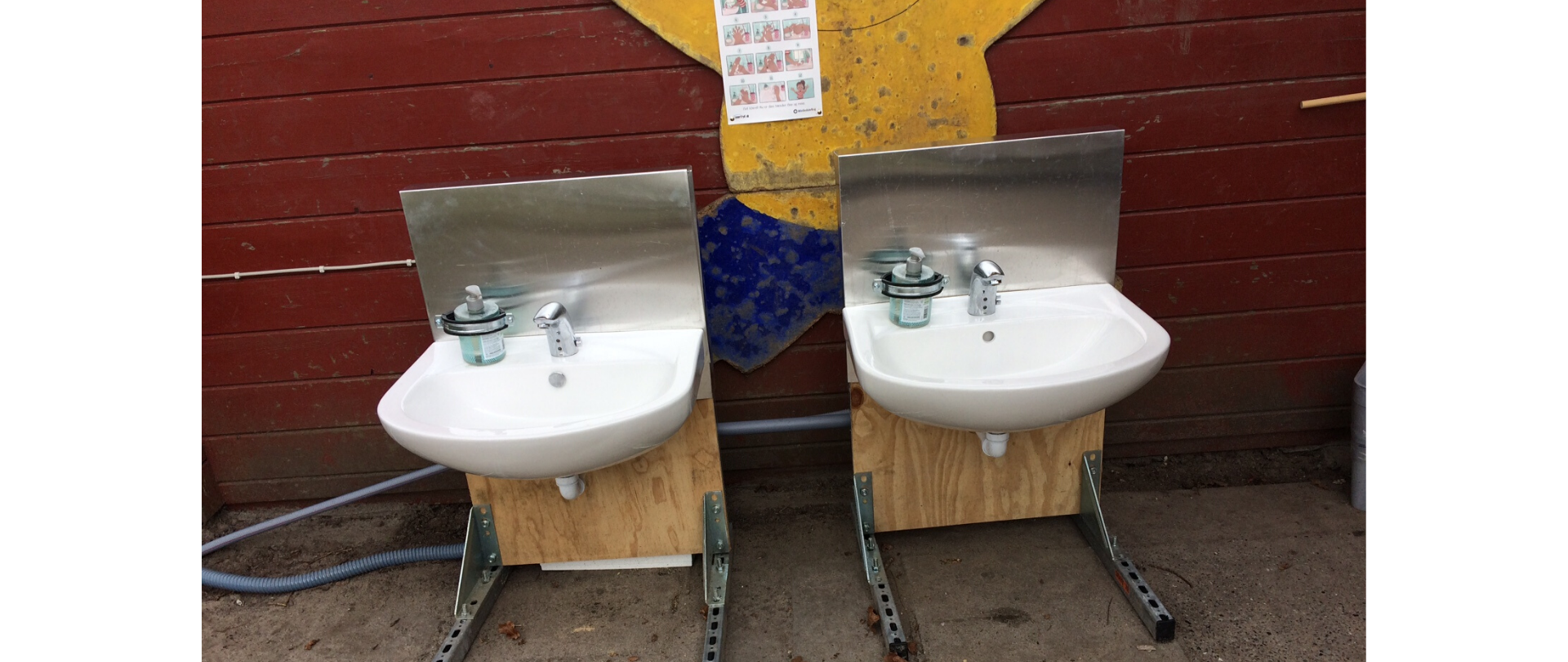 håndvask børnehave covid-19