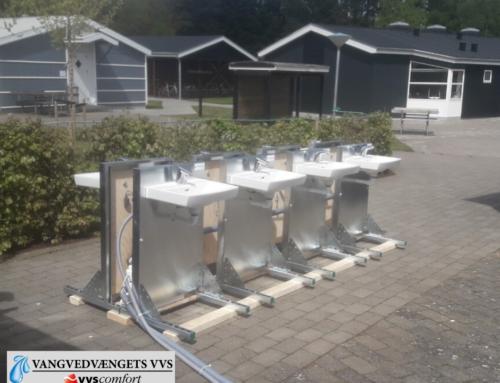 Efterskole forbereder genåbning med 16 ekstra håndvaske