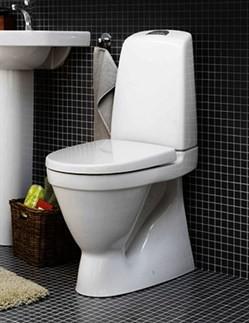 Gustavsberg 5500 Gulvstående toilet