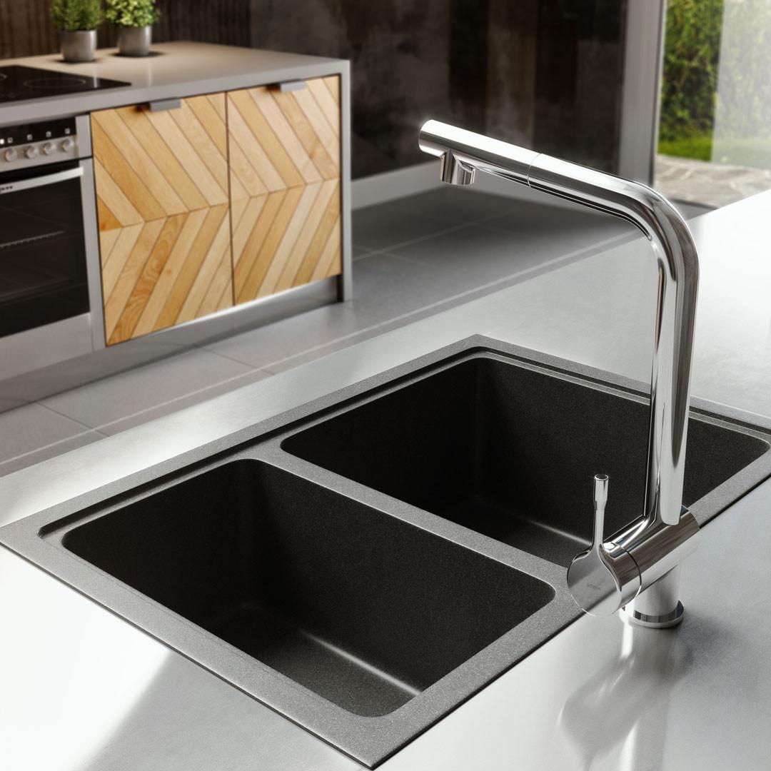 Vangvedvængets VVS vandhane køkken Børma