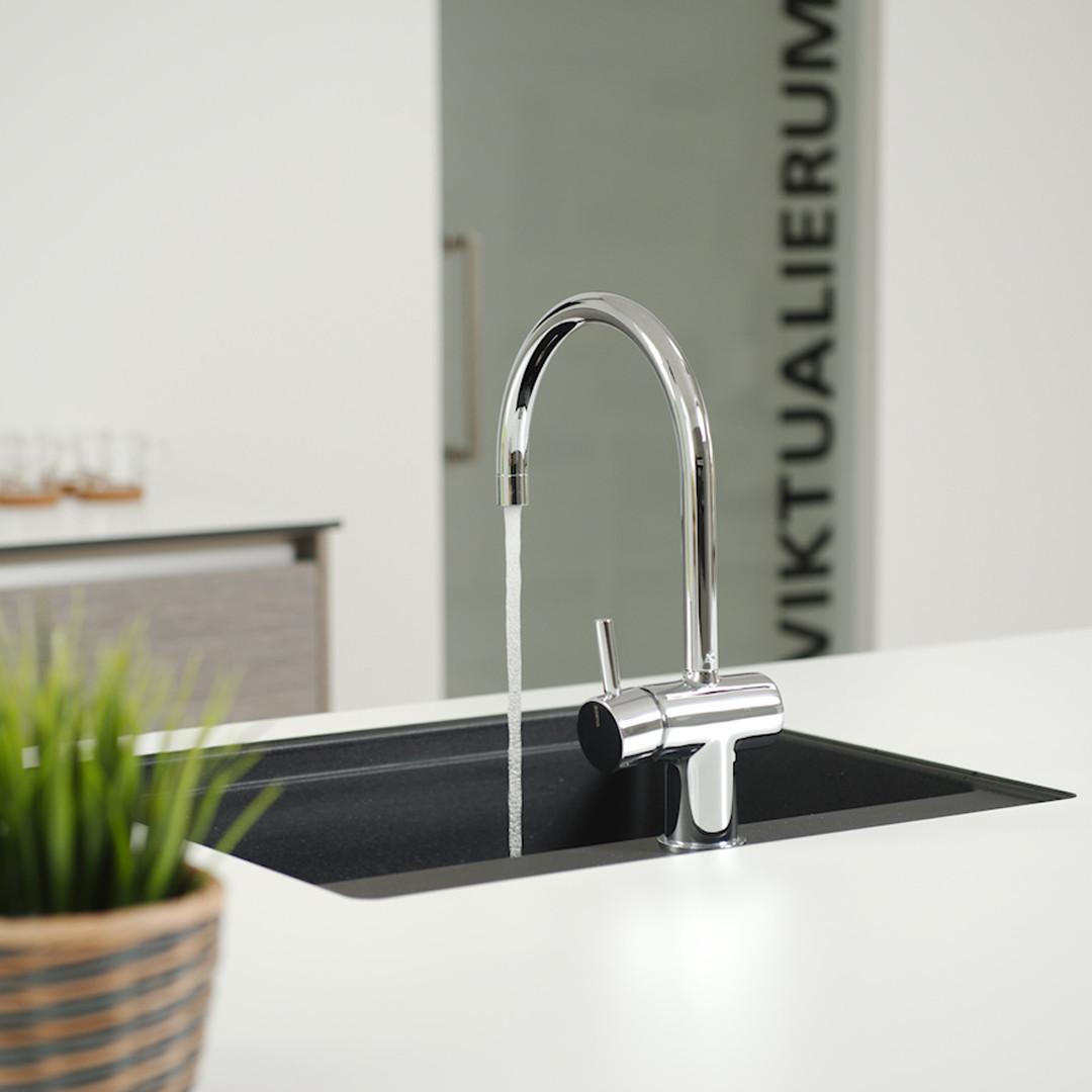Vangvedvængets VVS vandhane Børma køkken