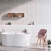 Strømberg Vangvedvænget badekar