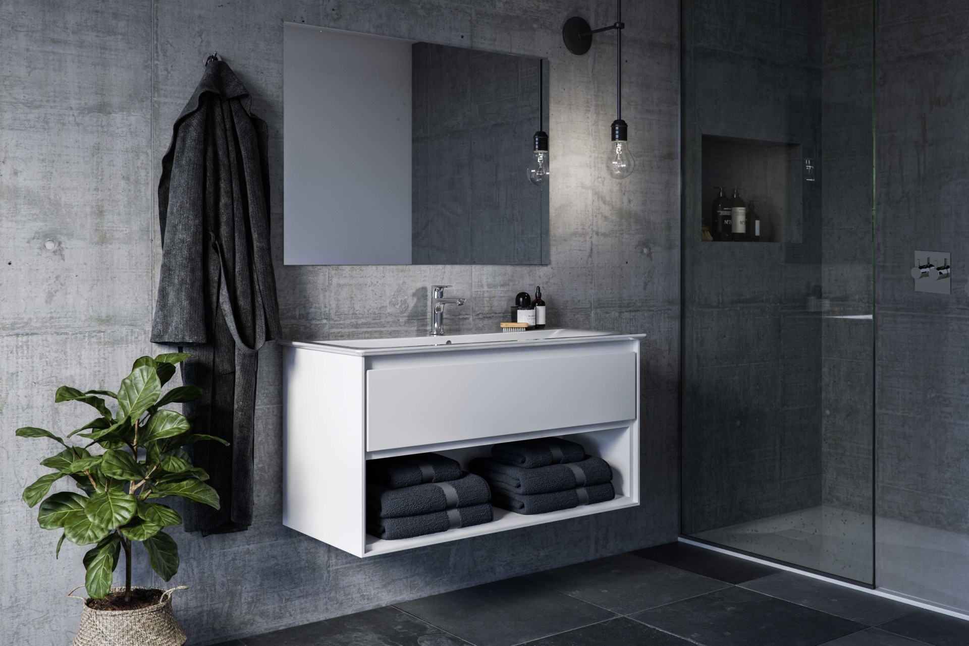 Vangvedvængets VVS vandhane badeværelse