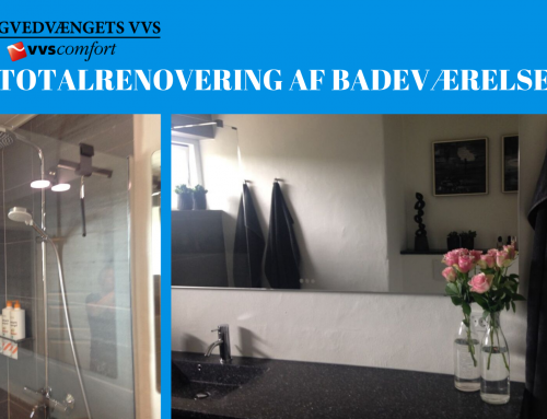 Case: Totalrenovering af badeværelse og gæstetoilet