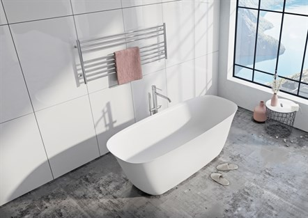 Vangvedvængets VVS Strømberg Bad Vadum badekar fritstående