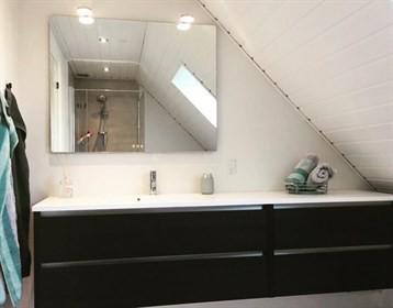 Vangvedvængets VVS Renovering badeværelse Resenbro Silkeborg